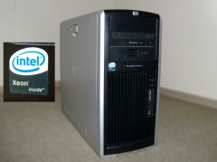 HP xw8400 Workstation MADE IN TOKYOの画像
