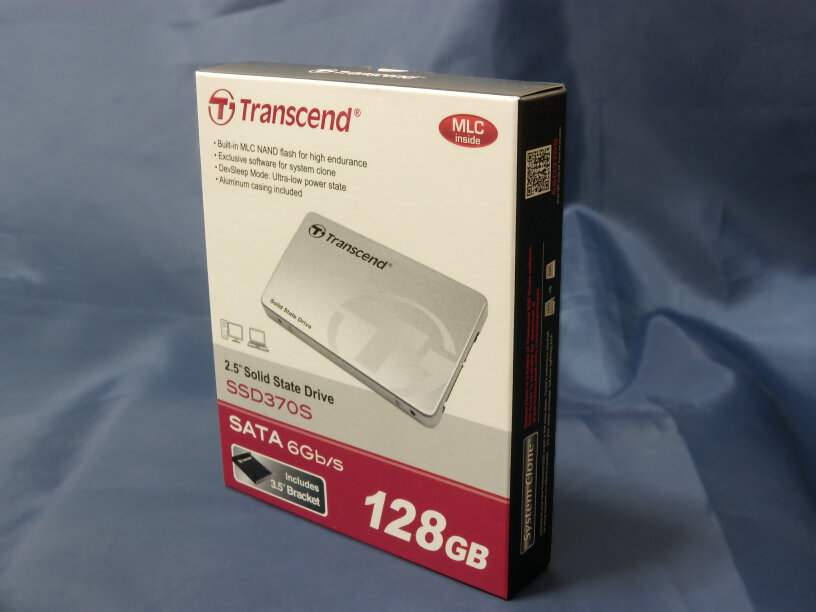Transcend SSD packageの画像